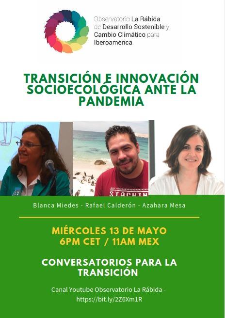 Video I Conversatorio para la transición socioecológica en Iberoamérica